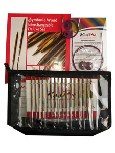 KnitPro Symfonie Wood Interchangeable  Needle Set – Deluxe