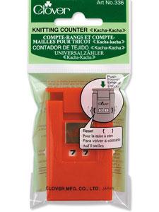 "Clover Knitting Counter ""Kacha-Kacha"" (Red)"