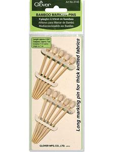 Clover Marking Pins – Bamboo