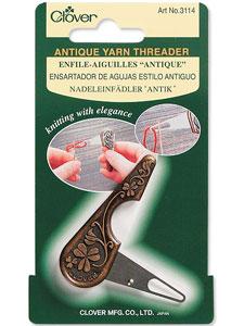 Clover Yarn Threader – Antique