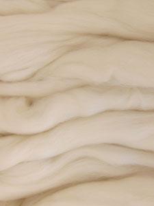 Karen Platte Felting Wool – Natural