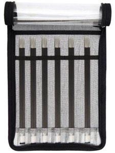 KnitPro Karbonz DPN Sock Needle Set (20cm)