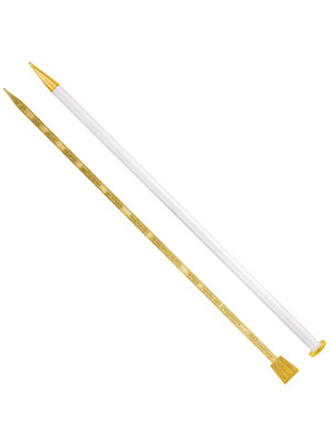 Addi Knitting Needles with Goldglitter (35cm)