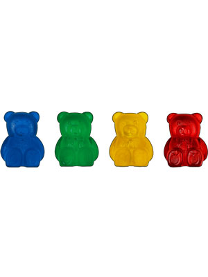 Addi Stitch Holders with Bear Shape