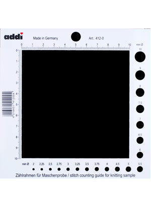 Addi Stitch Counting Frame