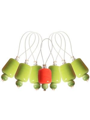 Knitpro ZOONI Holly Stitch Markers