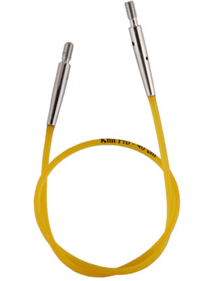 KnitPro Interchangeable Needle Cable (Colour Coded)