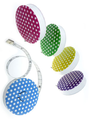 Hoechstmass Rollfix Decor Tape Measure – Dots