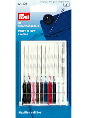 Prym Ready-to-sew needles, 10 items (121105)