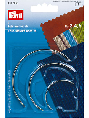 Prym Upholstery needles, curved, assorted (131350)