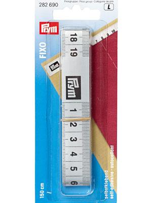 Prym Tape measure Fixo self-adhesive, 150cm (282690)