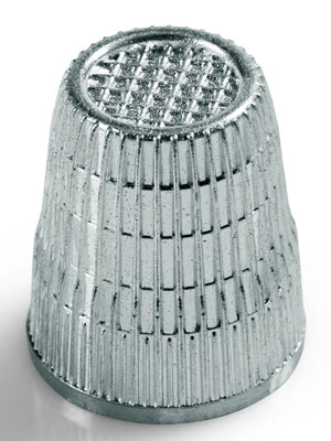 Prym Thimble with anti-slip edge, 15mm (431861)