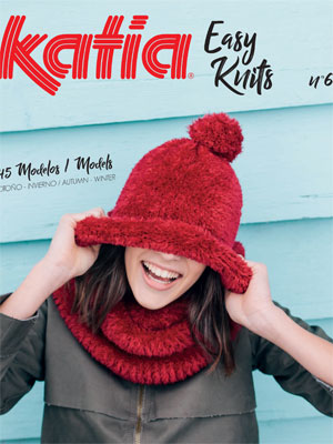 Katia Easy Knits (Winter 2018), Book No 6