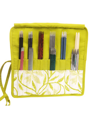KnitPro Greenery Double Pointed Needle Case (15/20cm)
