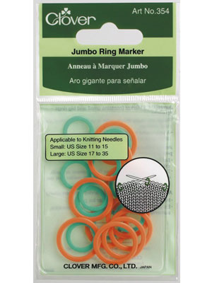 Clover Stitch Ring Markers (Jumbo)