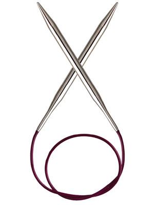 Knitpro Nova Metal  Fixed Circular Needle ( 25 cm)